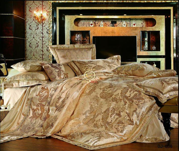 Комплект постельного белья сатин-жаккард